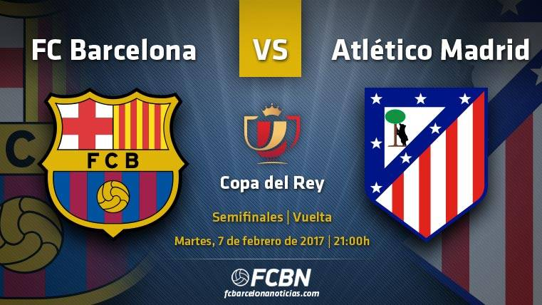 Barcelona-Atlético: A cerrar el pase hacia la final de Copa