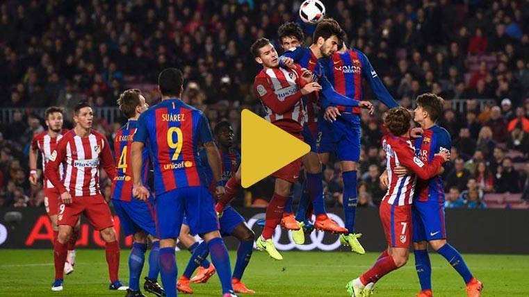 Vídeo resumen: FC Barcelona 1 Atlético de Madrid 1