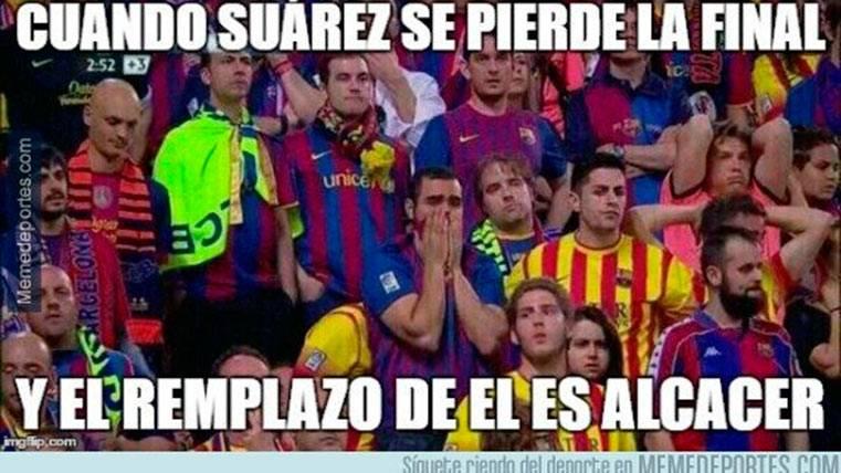 """Estos son los mejores """"memes"""" del Barça-Atlético de Madrid"""