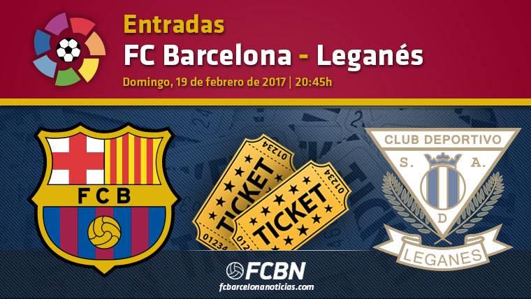 Entradas FC Barcelona contra Leganés - La Liga