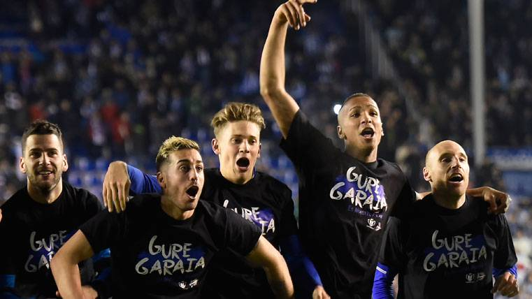 El Alavés pide San Mamés para la final... ¿Y el Barça el Bernabéu?