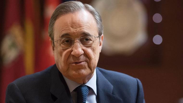 Florentino Pérez, durante un acto del Real Madrid en una imagen de archivo