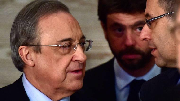 """Florentino: """"Ni de coña, que se lo quiten de la cabeza"""""""