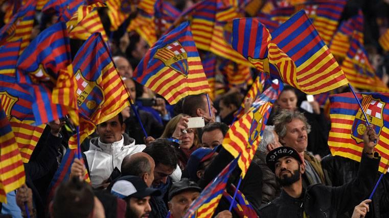 Y el Camp Nou respondió: apoyo total para el FC Barcelona