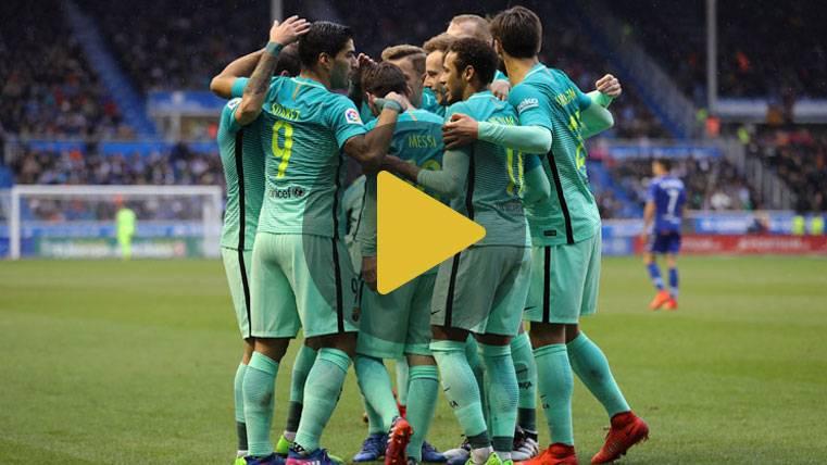 Vídeo resumen: Deportivo Alavés 0 FC Barcelona 6 (Liga J22)