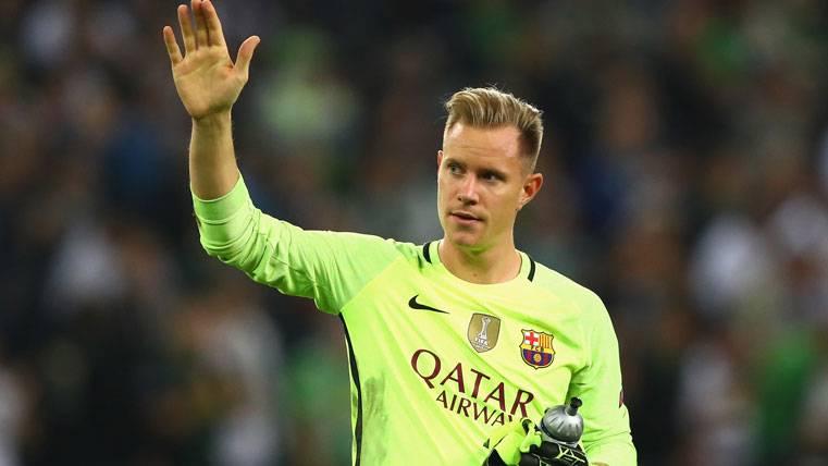 El paradón de Ter Stegen que cambió el partido para el Barça