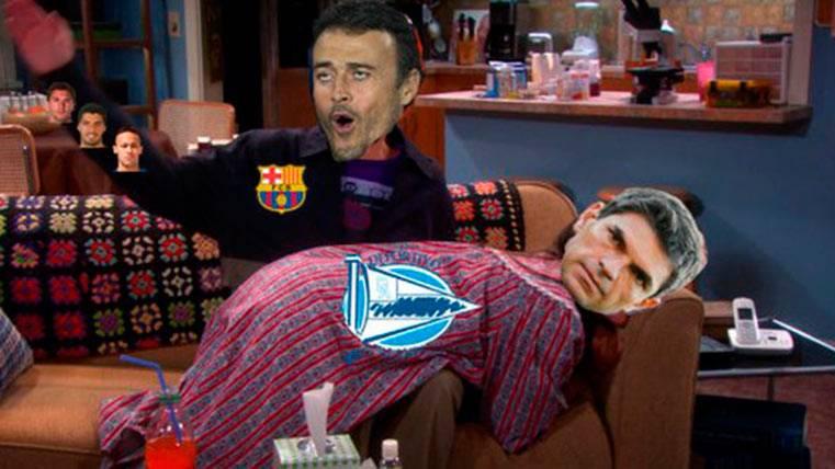 """Estos son los mejores """"memes"""" del Alavés-FC Barcelona"""