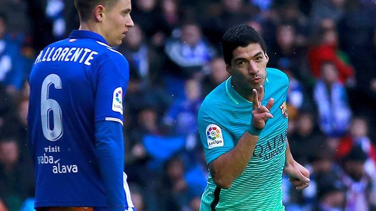 Espectacular Luis Suárez: ¡Sólo le queda un equipo en Liga!
