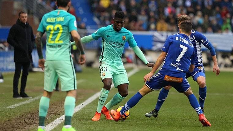 Buenas noticias: Samuel Umtiti estará en el PSG-FC Barcelona