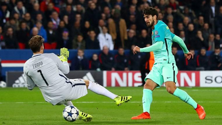 ¡Parte de la afición pide la salida de André Gomes del Barça!