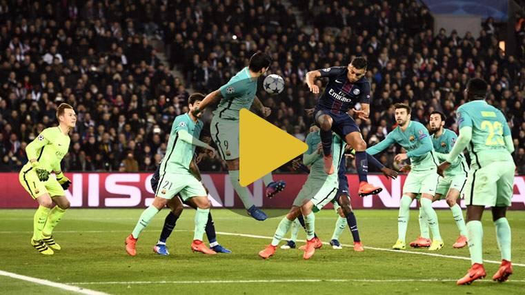 Vídeo resumen: PSG 4 FC Barcelona 0 (Champions ida 1/8)