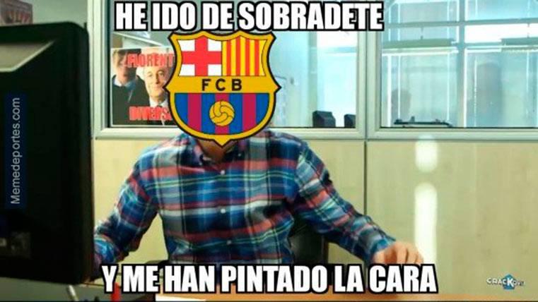 """Estos son los mejores """"memes"""" del PSG-FC Barcelona"""