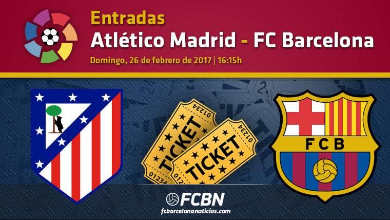 Entradas Atlético Madrid contra FC Barcelona - La Liga