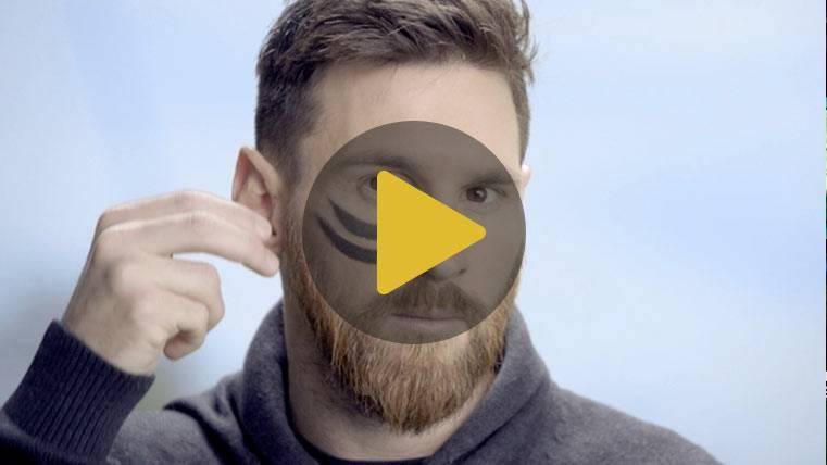Messi participa en una campaña contra el cáncer infantil