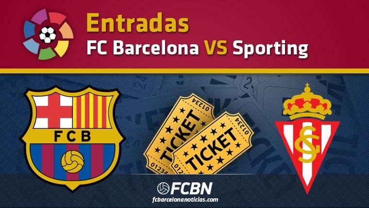 Entradas FC Barcelona vs Sporting Gijón - La Liga