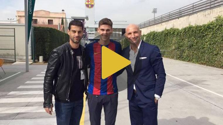 Santiago Bueno llega para reforzar la defensa del Barça