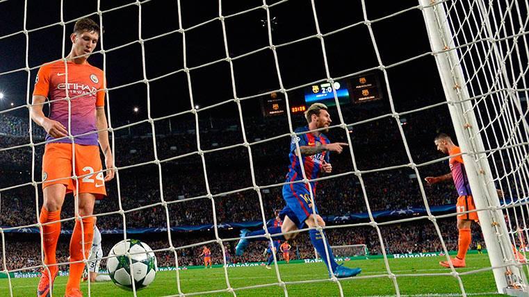 Este curso el Barça ya le metió 4 a un TOP como el City