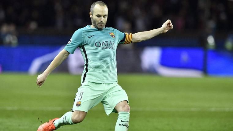 Impresionantes números de Iniesta con el Barça en Liga