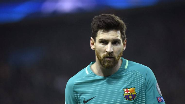Programada una reunión para Leo Messi en Madrid