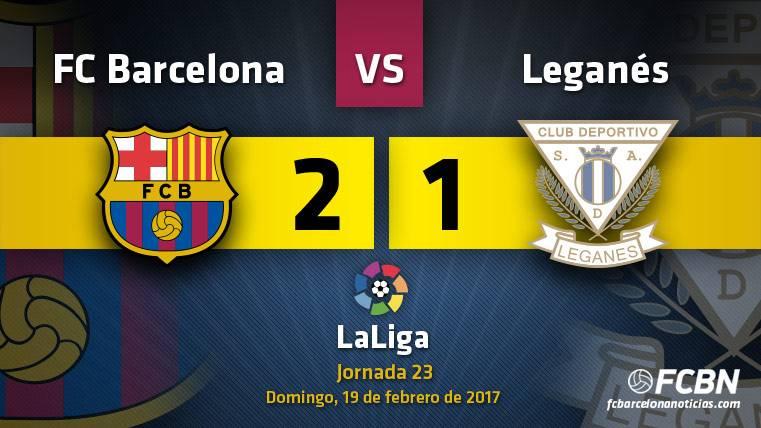 Milagro para un Barcelona que vence pero no convence