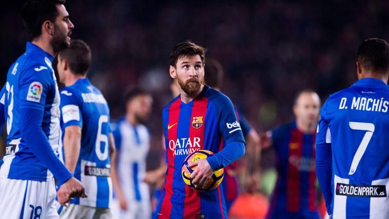 ¿Por qué Messi no celebró el gol del triunfo ante el Leganés?