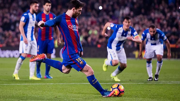 La rabia de Messi da la victoria al Barça y el Pichichi en solitario