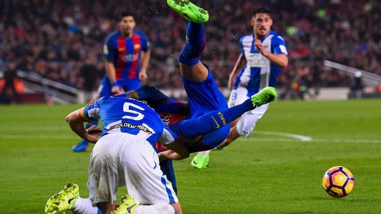 La jugada de Neymar que obró el milagro para el Barça