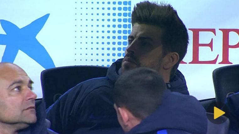 El gesto serio de Messi y Piqué que dará que hablar