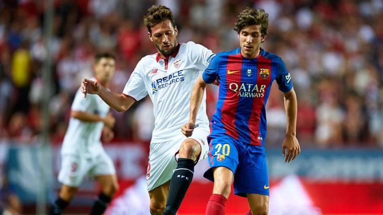 Sergi Roberto tiene los días contados en el lateral del Barça