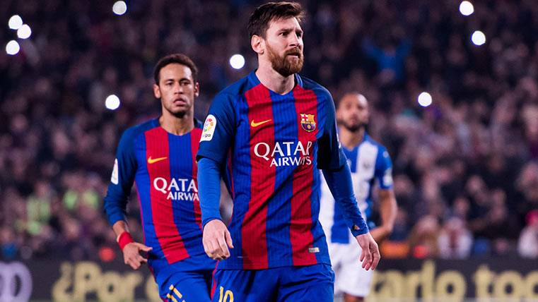 "Leo Messi ya lidera la Bota de Oro tras su ""doblete"""