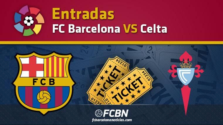 Entradas FC Barcelona vs Celta Vigo - La Liga