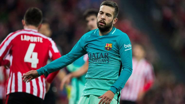 """Jordi Alba, otro """"señalado"""" del Barça que debe subir el nivel"""