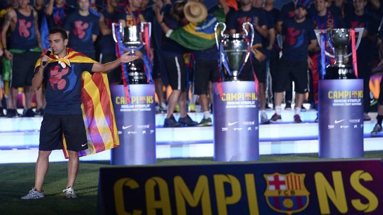 Sin Xavi Hernández se acabó el paraíso para el Barcelona