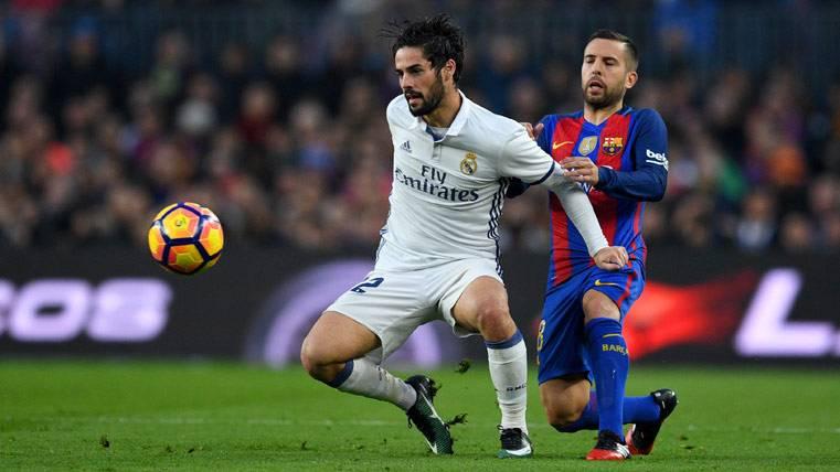 ¿Traicionará Isco al Real Madrid para fichar por el Barça?