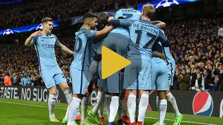 LOCURA:La increíble remontada del City ante el Mónaco (5-3)