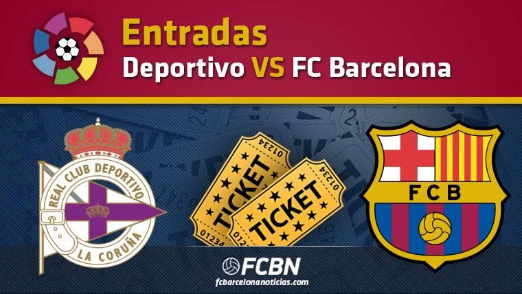 Entradas Deportivo de La Coruña contra FC Barcelona - Liga
