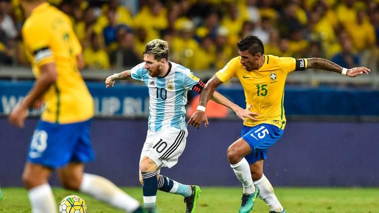 """""""Messi es mágico, hubiera querido que naciera en Brasil"""""""