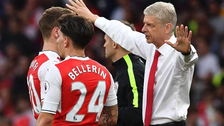 El relevo del Arsenal que puede enviar a Bellerín al Barça