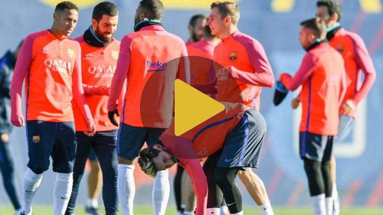 CONJURA: El Barça ya entrena para remontar Liga y Champions