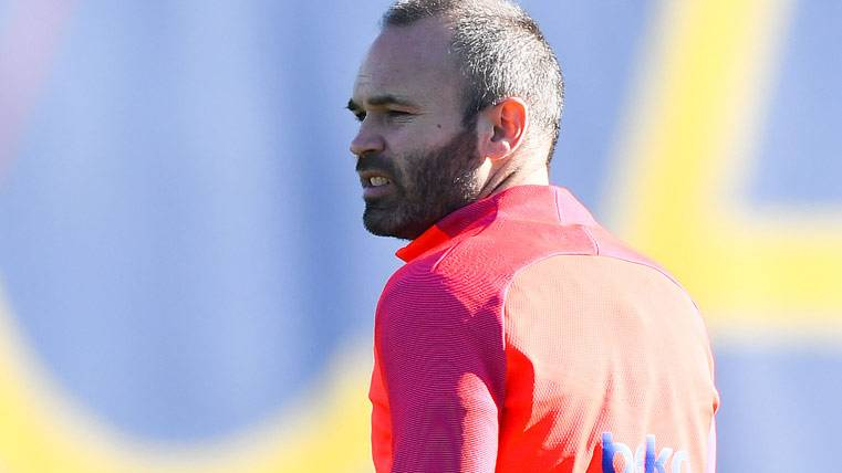 Así trabaja Iniesta para llegar a tope contra Atlético y PSG