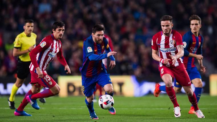 Brutal estadística goleadora de Messi contra el Atlético