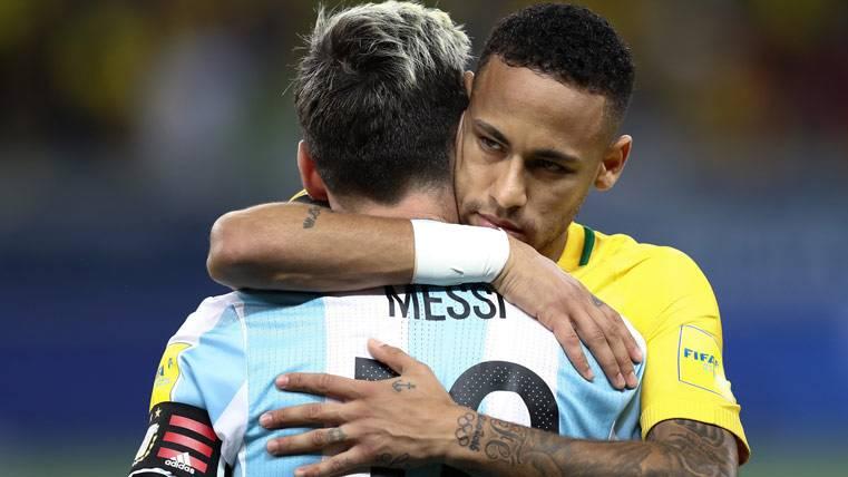 Messi y Neymar se enfrentarán el 9 de junio en Australia