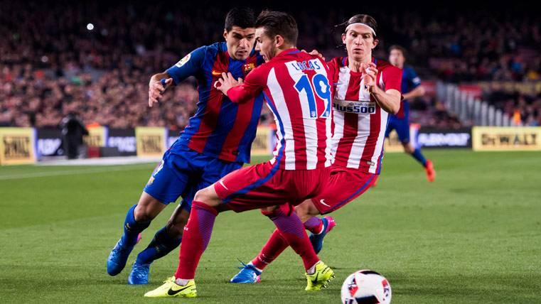 Las peculiaridades del Atlético-Barça que favorecen a los culés