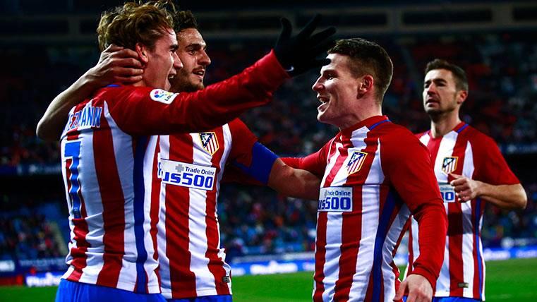 El Atlético, con su delantera de oro si Simeone lo permite