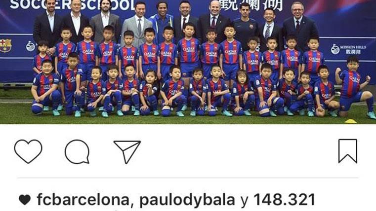 """El """"favorito"""" de Dybala a Ronnie que le acerca al Barça"""