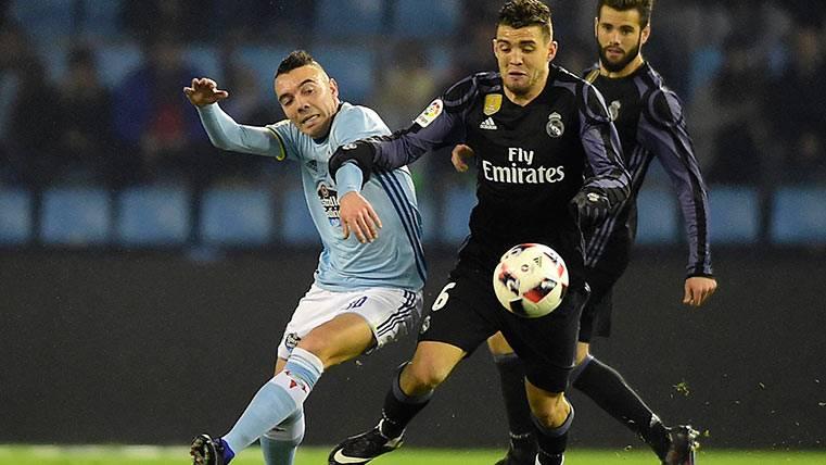 El épico zasca de Iago Aspas que todavía retumba en el Bernabéu