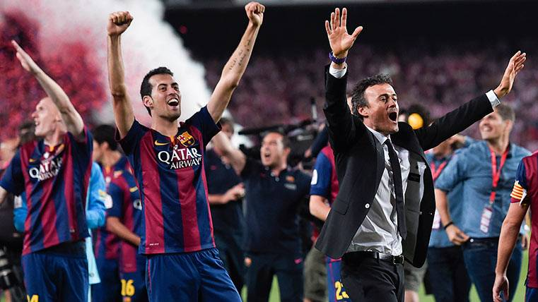 El Barça de Lucho sabe lo que es remontarle 4 puntos al Madrid