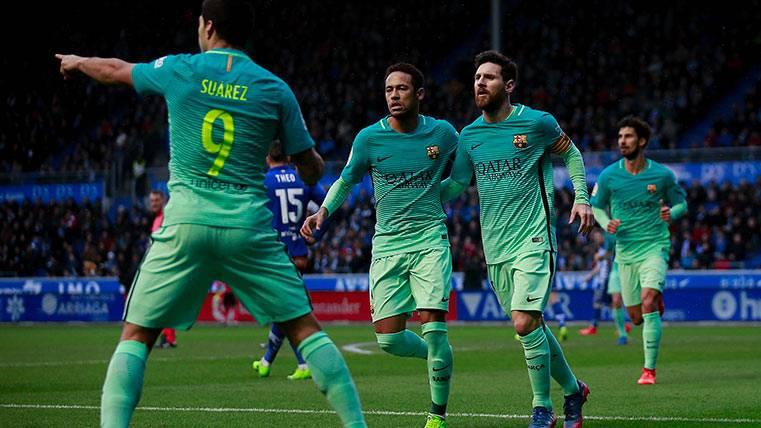 COMPARATIVA: Así llegan los tridentes de Atleti y Barça