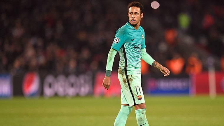 Neymar, a recuperar la sonrisa frente al Atlético de Madrid