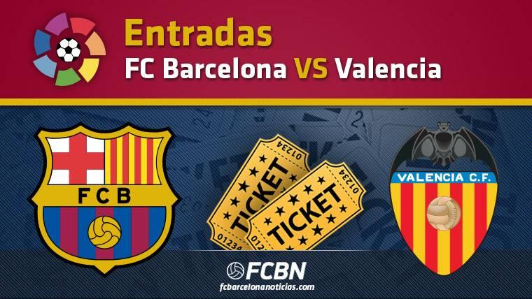 Entradas FC Barcelona contra Valencia - Liga